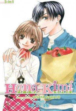 Hana-Kimi (3-in-1 Edition) 06 by Hisaya Nakajo
