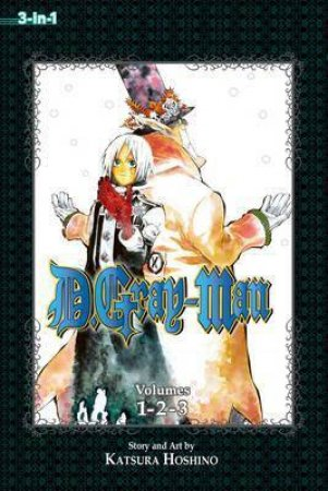 D.Gray-Man (3-in-1 Edition) 01 by Katsura Hoshino