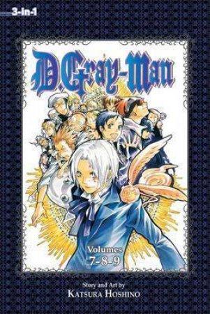 D.Gray-Man (3-in-1 Edition) 03 by Katsura Hoshino
