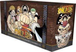 One Piece 01-23 by Eiichiro Oda