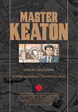 Master Keaton 01 by Naoki Urasawa, Takashi Nagasaki & Hokusei Katsushika