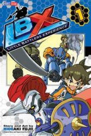 LBX: Little Battlers Experience 01 by Hideaki Fujii - 9781421576954 - QBD  Books