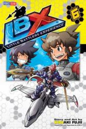 LBX: Little Battlers Experience 06 by Hideaki Fujii - 9781421577005 - QBD  Books