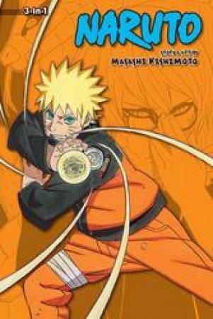 Naruto (3-in-1 Edition) 18 by Masashi Kishimoto