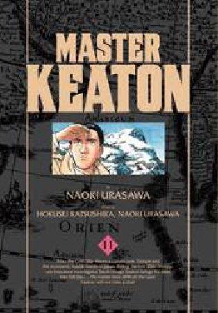 Master Keaton 11 by Naoki Urasawa, Takashi Nagasaki & Hokusei Katsushika