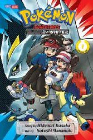 Pokemon Adventures: Black 2 & White 2 01 by Hidenori Kusaka & Satoshi Yamamoto