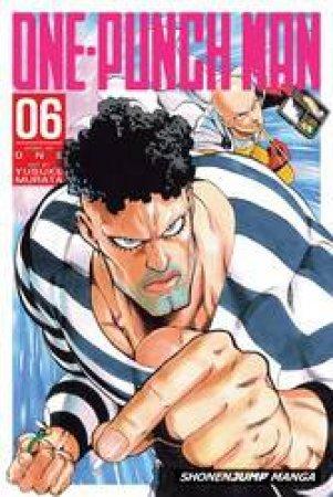 One-Punch Man 06 by One & Yusuke Murata
