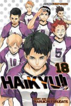 Haikyu!! 18 by Haruichi Furudate