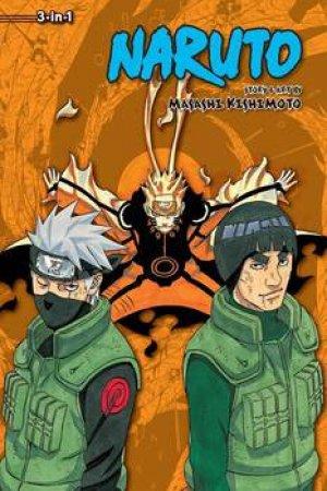 Naruto (3-in-1 Edition) 21 by Masashi Kishimoto