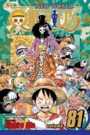 One Piece 81 by Eiichiro Oda
