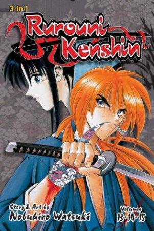 Rurouni Kenshin (3-in-1 Edition) 05 by Nobuhiro Watsuki