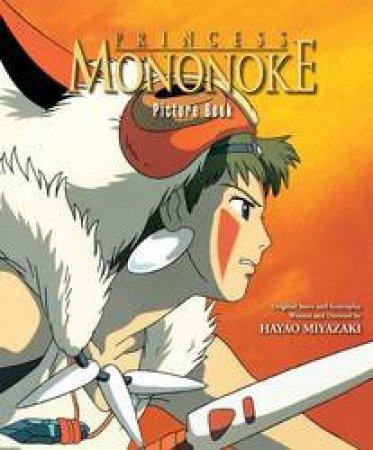 Princess Mononoke Picture Book by Hayao Miyazaki