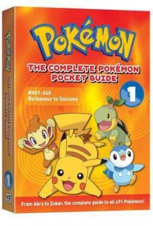 Complete Pokemon Pocket Guide, Vol 1 by Hidenori Kusaka