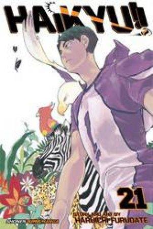 Haikyu!! 21 by Haruichi Furudate