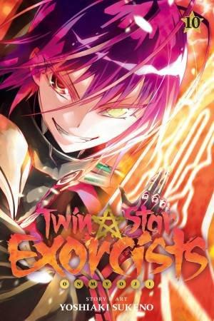 Twin Star Exorcists 10 by Yoshiaki Sukeno