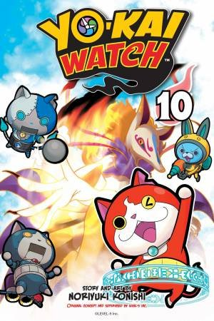 YO-KAI WATCH, Vol. 10 by Noriyuki Konishi