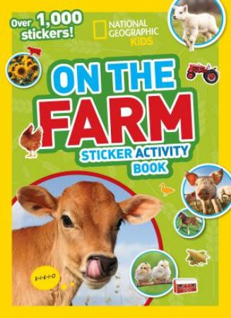 On The Farm: Sticker Activity Book