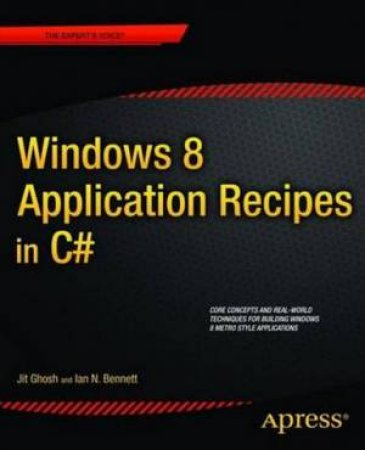 Metro Style Application Recipes for Windows 8 in C#