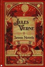 Sterling Leatherbound Classics Jules Verne Seven Novels