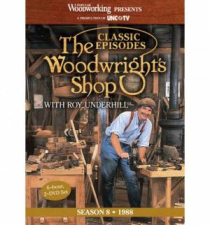 Classic Episodes, The Woodwright's Shop (Season 8) by EDITORS POPULAR WOODWORKING