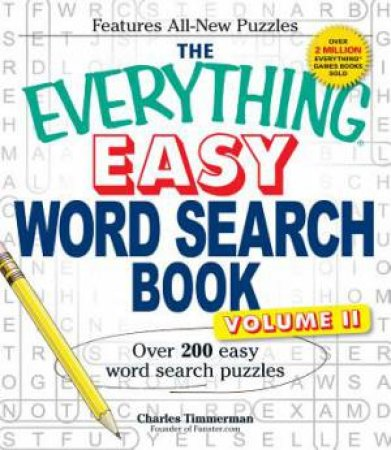 The Everything Easy Word Search Book by Charles Timmerman