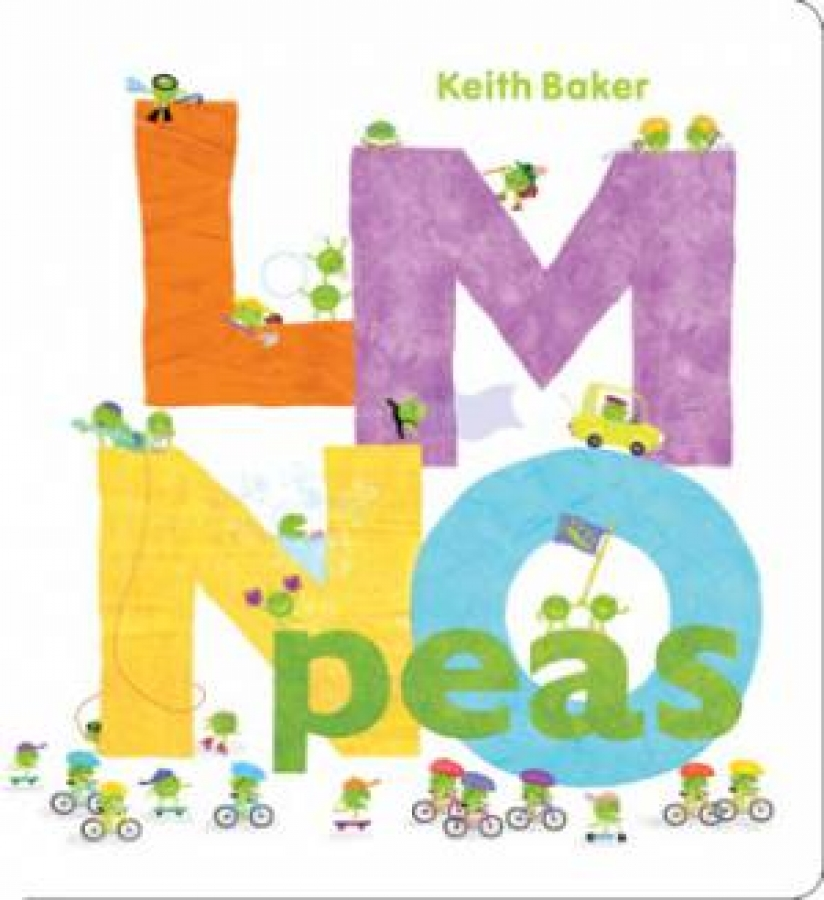 LMNO Peas by Keith Baker [Board Book]