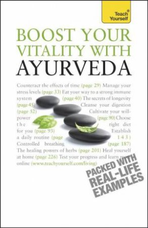 Teach Yourself: Boost Your Vitality With Ayurveda by Sarah Lie