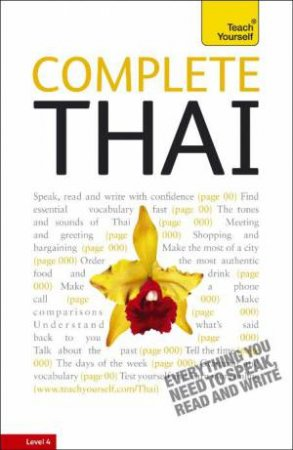 Teach Yourself: Complete Thai by David Smyth