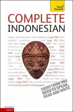 Teach Yourself: Complete Indonesian (Bahasa Indonesia) - Audio by Christopher Byrnes & Eva Nyimas