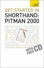 Teach Yourself Get Started In Shorthand Pitman 2000 plus CD