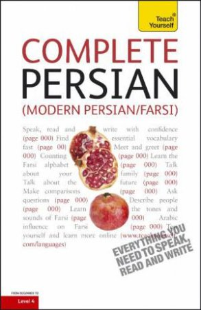 Complete Modern Persian (Farsi): Teach Yourself by Narguess Farzad
