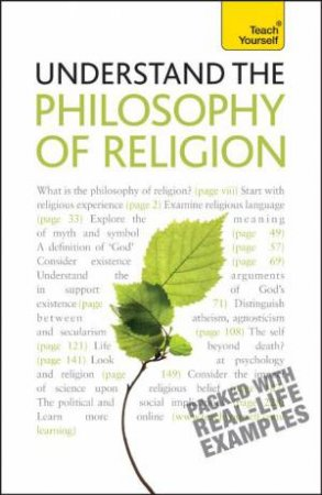 Teach Yourself: Understand the Philosophy of Religion by Mel Thompson