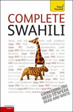 Complete Swahili: Teach Yourself by Joan Russell