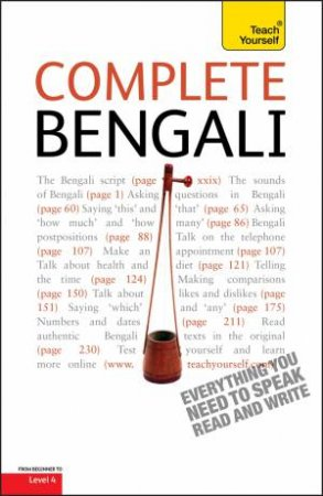 Teach Yourself: Complete Bengali Book by William Radice
