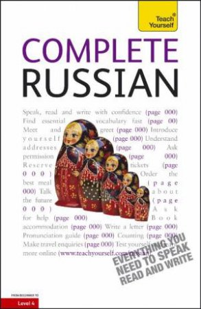 Teach Yourself: Complete Russian by Daphne West