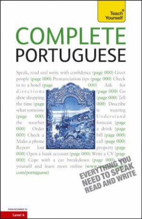 Complete Portuguese: Teach Yourself by Manuela Cook