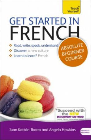 Get Started In Beginner's French Book/CD Pack: Teach Yourself (New Edition) by Catrine Carpenter