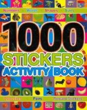 1000 Stickers Activity Book
