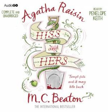Agatha Raisin Hiss and Hers 6/394 by M C Beaton