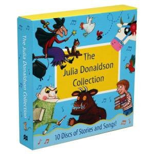 The Julia Donaldson Collection: 10 Discs Of Stories And Songs by Julia Donaldson