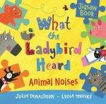 What the Ladybird Heard Animal Noises Jigsaw Book