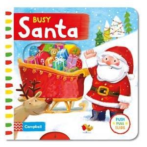 Busy Santa by Rebecca Finn