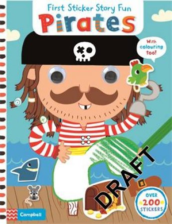 First Sticker Story Fun: Pirates
