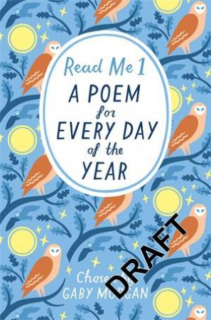 Read Me 01: A Poem For Every Day of the Year