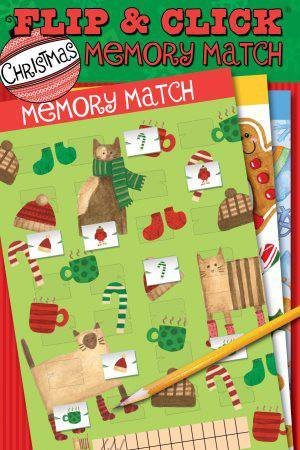 Flip and Click Christmas Memory Match by Various