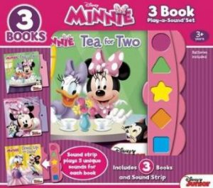 3 Book Play-A-Sound: Minnie