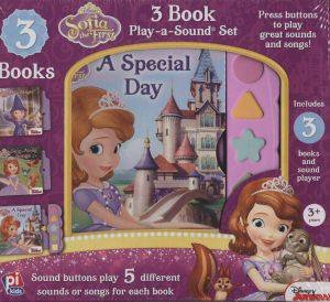 3 Book Play-A-Sound: Sofia The First