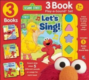 3 Book Play-A-Sound: Sesame Street
