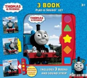 3 Book Play-A-Sound: Thomas And Friends