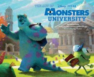 Art of Monsters University by Karen Paik